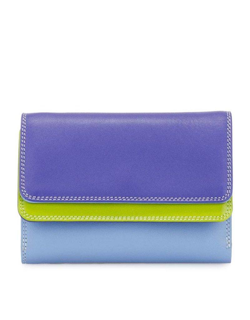 Mywalit Mywalit Double Flap Purse Wallet - Lavender - portemonnee - kleurtjes