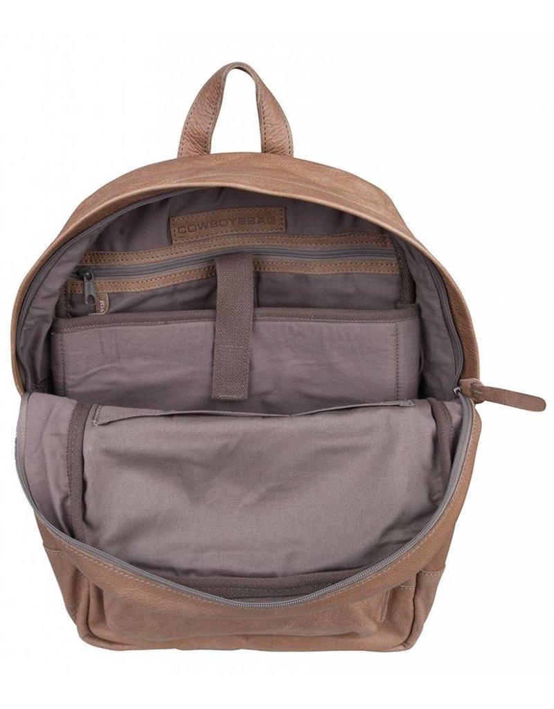 Cowboysbag Cowboysbag - Bag Brecon - Elephant Grey leren rugzak