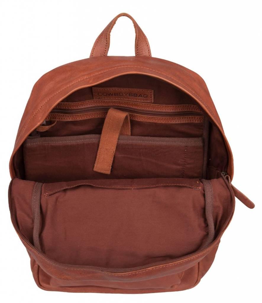 Cowboysbag Cowboysbag - Bag Brecon - Cognac leren rugzak