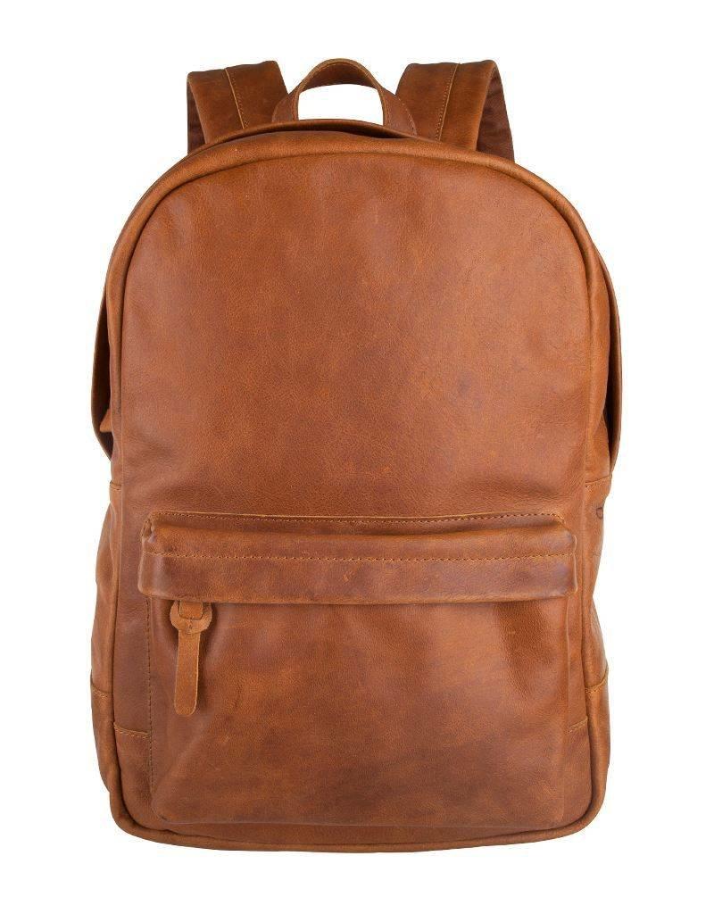 Cowboysbag Cowboysbag - Bag Brecon - Tobacco leren rugzak