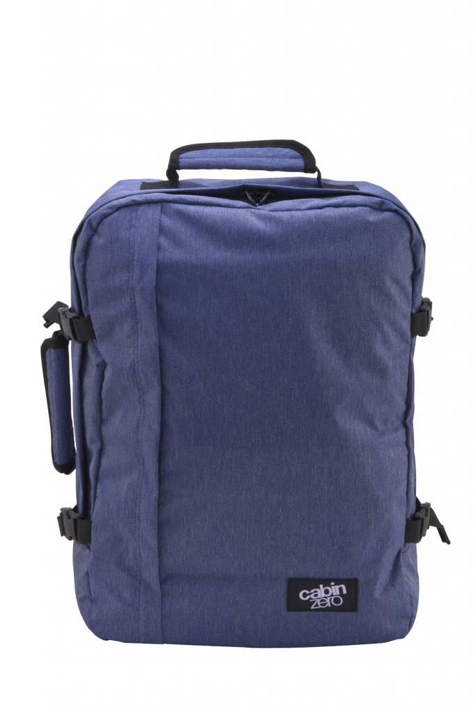 Cabinzero Cabinzero Classic handbagage Blue Jean ultralichte cabin rugzak
