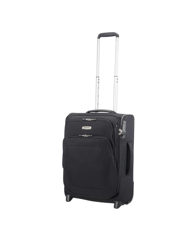 Samsonite Samsonite Spark SNG Upright 55/20 exp zwart handbagage koffer