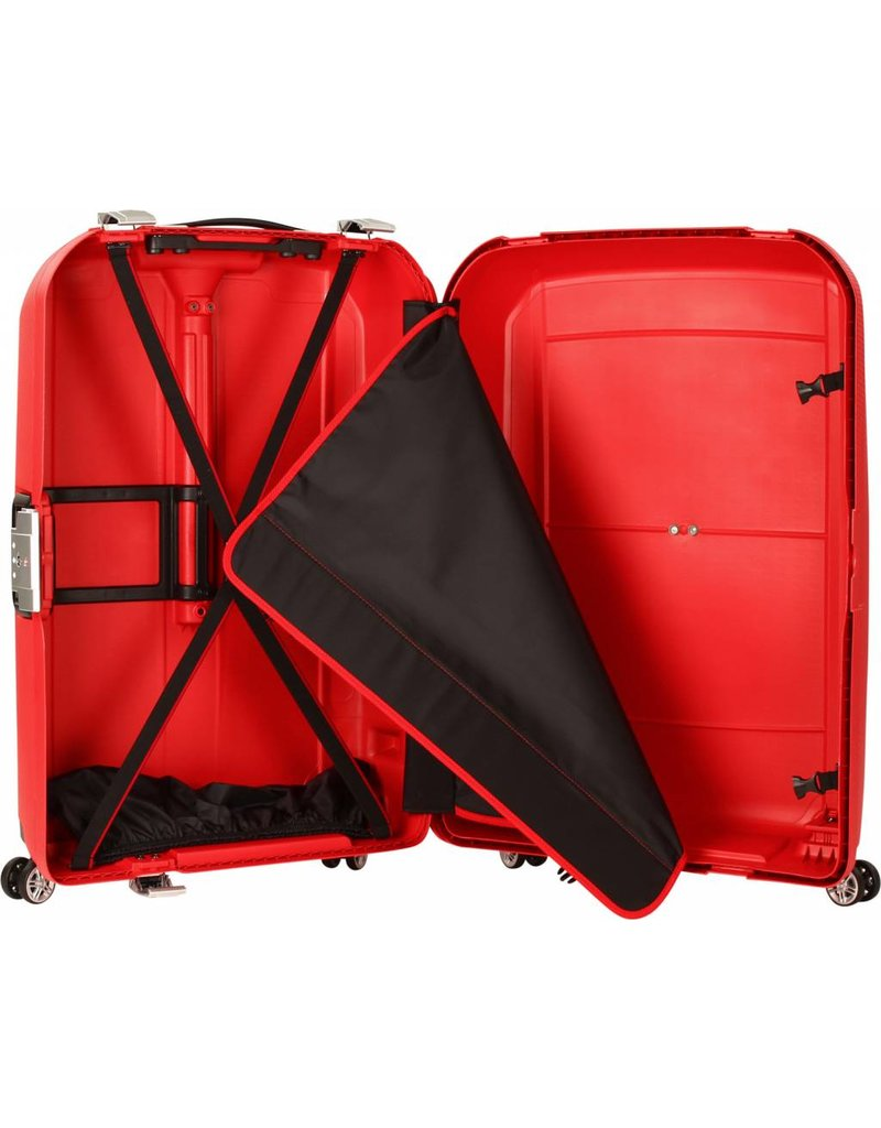 Titan Titan Mono - Spinner Reiskoffer - handbagage - Red