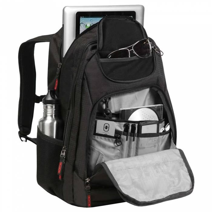 Ogio Ogio Tribune 17 laptoprugzak Geocache 17 inch laptop en tabletvak