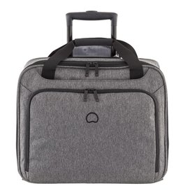 Delsey Delsey Esplanade handbagagetrolley boardcase laptoptas Anthracite