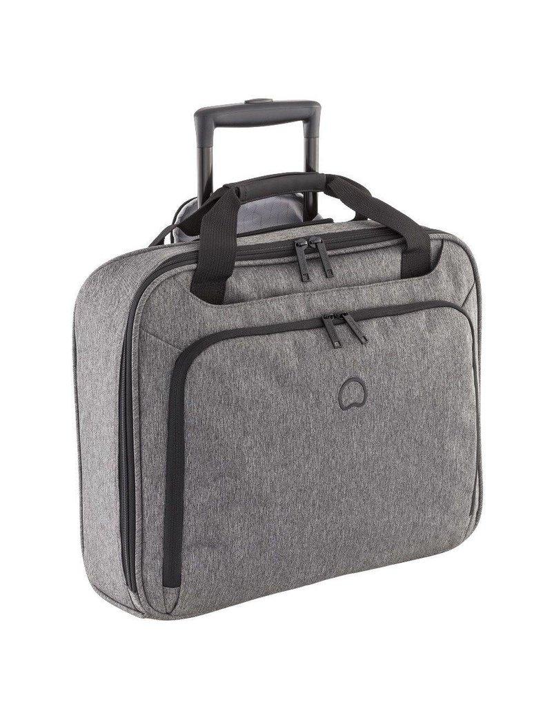 Delsey Delsey Esplanade handbagagetrolley boardcase laptoptas Anthracite 15.6