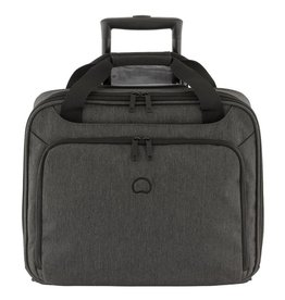 Delsey Delsey Esplanade handbagagetrolley boardcase laptoptas Black