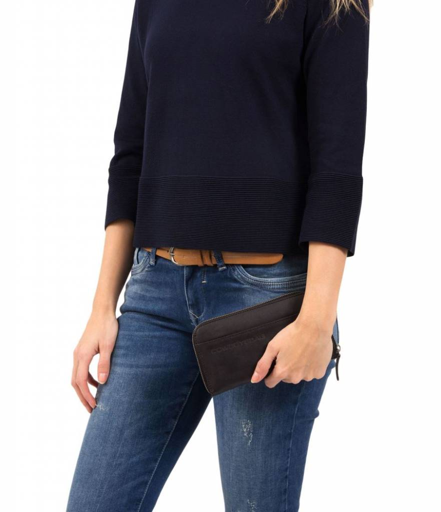 Cowboysbag Cowboysbag - The Purse - Antracite - damesportemonnee
