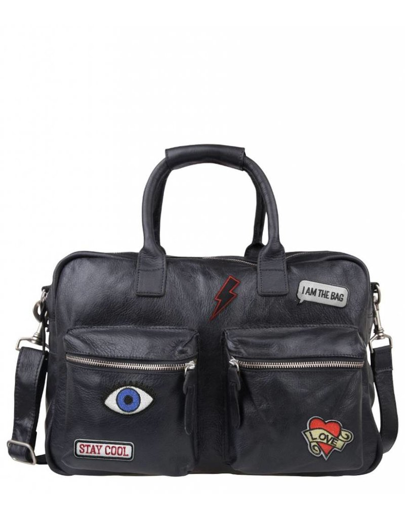 Cowboysbag Cowboysbag - The Bag - Patching -  Black