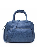 "Wimona Wimona Alessia 1106 - school werk 15.4"" laptoptas - donkerblauw"