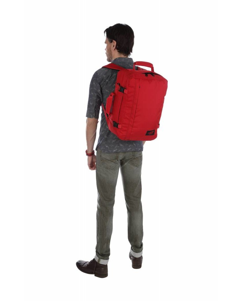 Cabinzero Cabinzero Classic 36L - handbagage rugzak - Naga Red