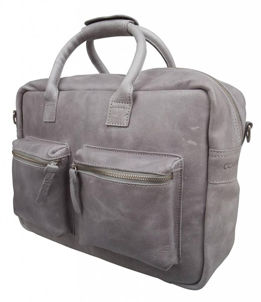 Cowboysbag Cowboysbag - The College Bag - Grey - 15.6 inch laptoptas