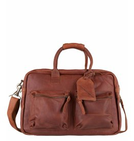 Cowboysbag Cowboysbag - The College Bag - 15.6 inch laptoptas - Cognac
