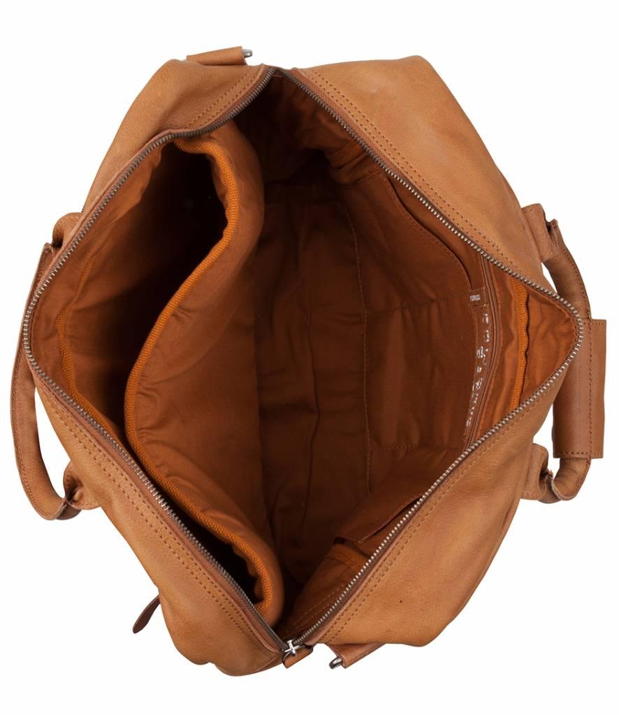 Cowboysbag Cowboysbag - The College Bag - Tobacco - 15.6 inch laptoptas