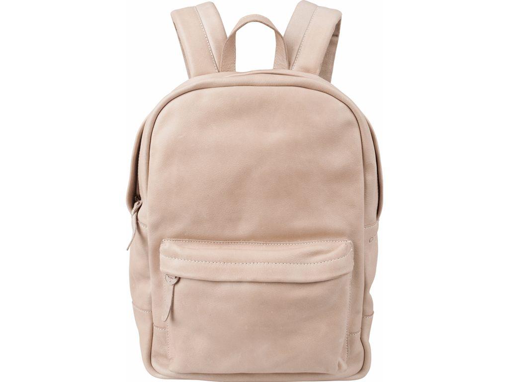 Cowboysbag Cowboysbag - Bag Brecon - Sand- leren rugzak