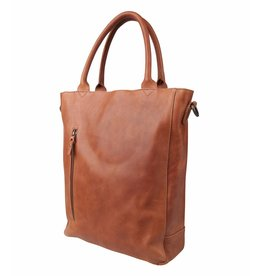 Cowboysbag Cowboysbag - Bag Luton Big - 15.6 inch laptoptas - Cognac