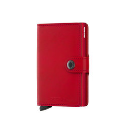 Secrid Secrid Mini Wallet Original Red Red pasjeshouder