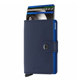 Secrid Secrid Mini Wallet Original Navy Blue pasjeshouder