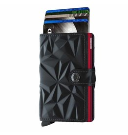 Secrid Secrid Mini Wallet Prism Black Red