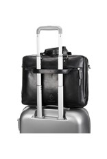"""Leonhard Heyden Leonhard Heyden Roma - Tote Bag 5370 - 15.4"""" aktetas - Zwart"""