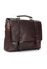 """Leonhard Heyden Leonhard Heyden Roma - Briefcase 5372 - 13.3"""" aktetas - Bruin"""