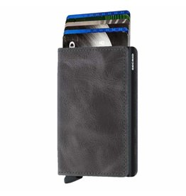 Secrid Secrid Slim Wallet Vintage Grey Black pasjeshouder