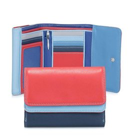Mywalit Mywalit Double Flap Purse Wallet - damesportemonnee - Royal
