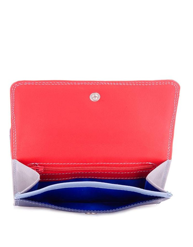 Mywalit Mywalit Double Flap Purse Wallet - Royal - portemonnee