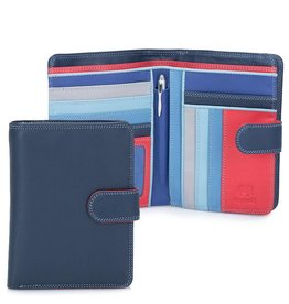 Mywalit Mywalit Large Snap Wallet Zip Purse - damesportemonnee - Royal
