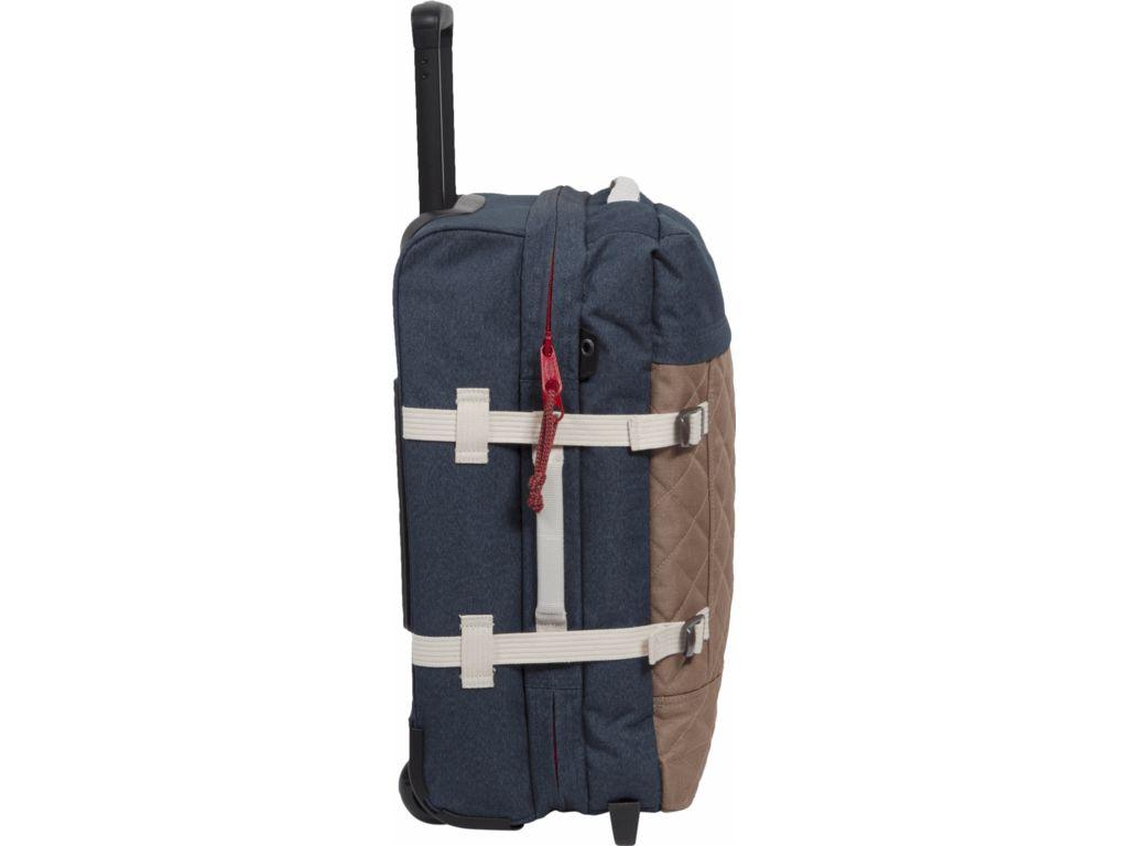 Eastpak Eastpak Tranverz S - handbagagetrolley - Quilt Blue