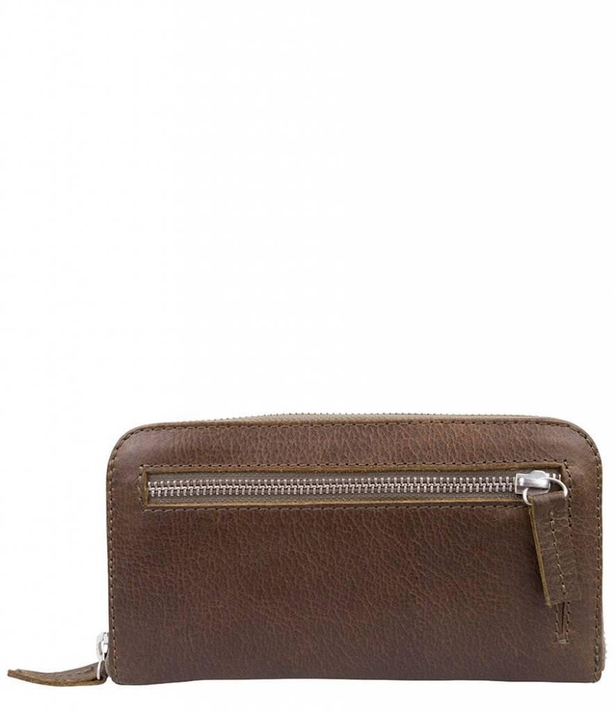 Cowboysbag Cowboysbag - The Purse - Olive - damesportemonnee