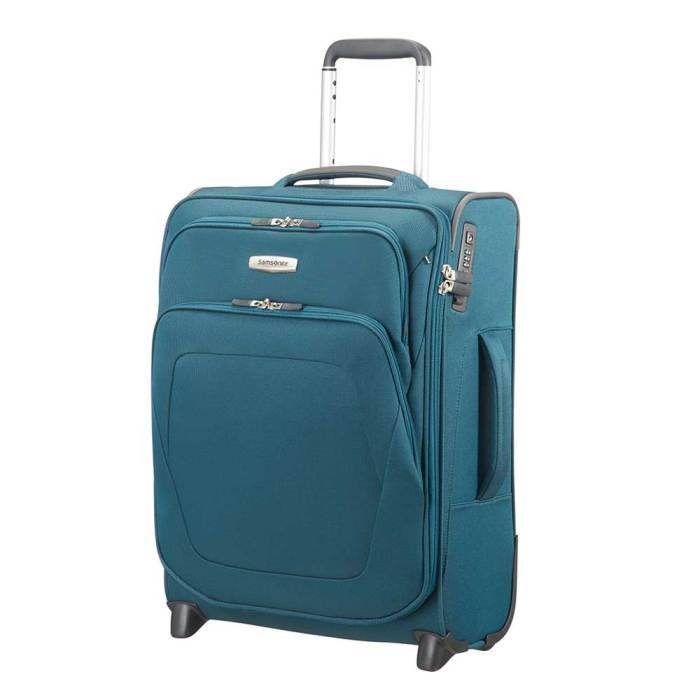 Samsonite Samsonite Spark SNG Upright 55/20 exp petrol blue handbagage koffer