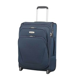 Samsonite Samsonite Spark SNG Upright 55 exp Toppocket blauw