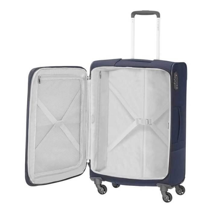Samsonite Samsonite Base Boost Spinner Navy 55x40x20 cm handbagage koffer