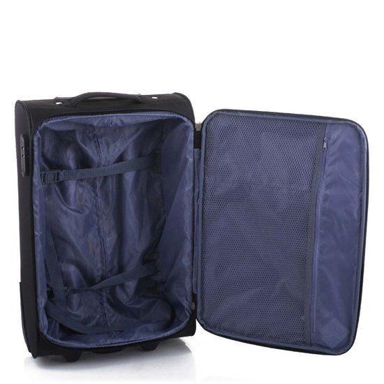 Line Line Brick handbagage koffer - 55 x 35 x 20 cm - Black