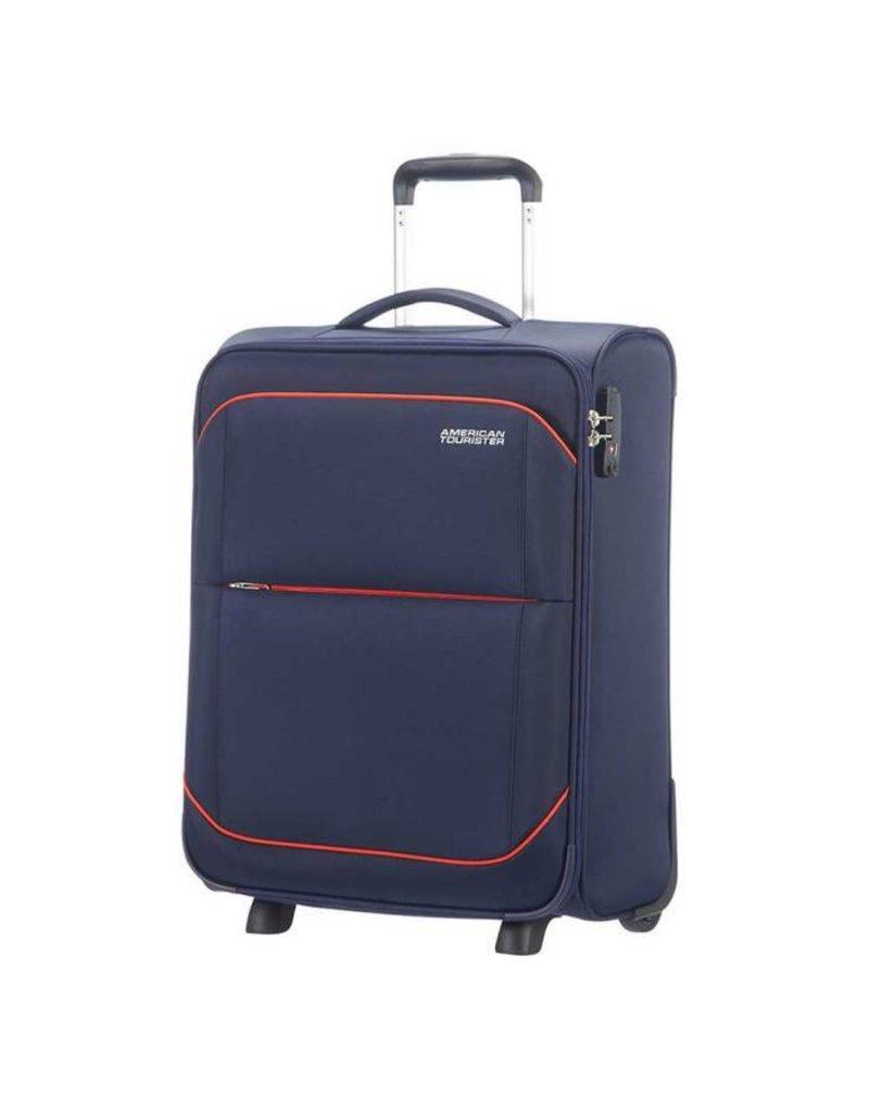 American Tourister American Tourister Sunbeam Upright 55  Nordic Blue handbagage koffer