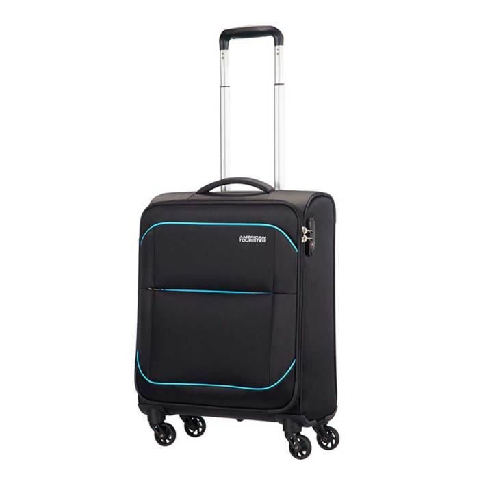 American Tourister American Tourister Sunbeam Spinner 55 After Dark handbagage koffer