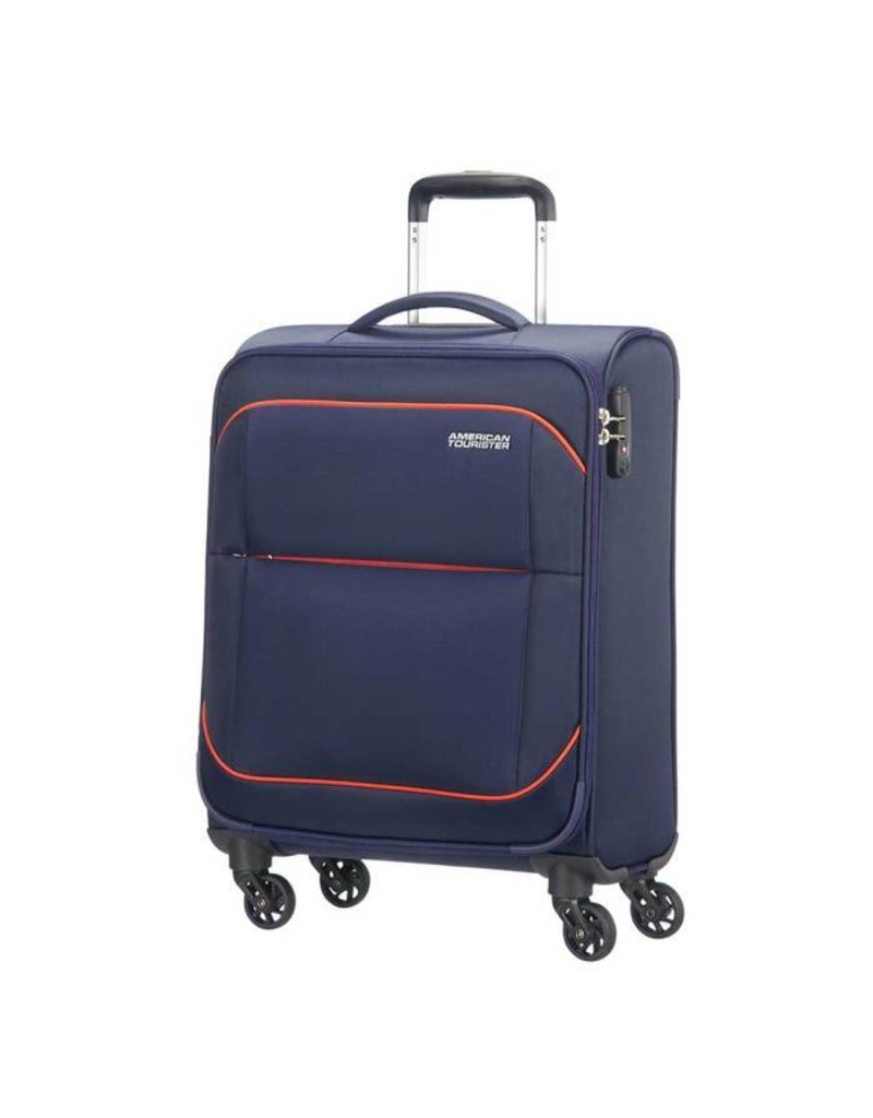 American Tourister American Tourister Sunbeam Spinner 55 Nordic Blue handbagage koffer