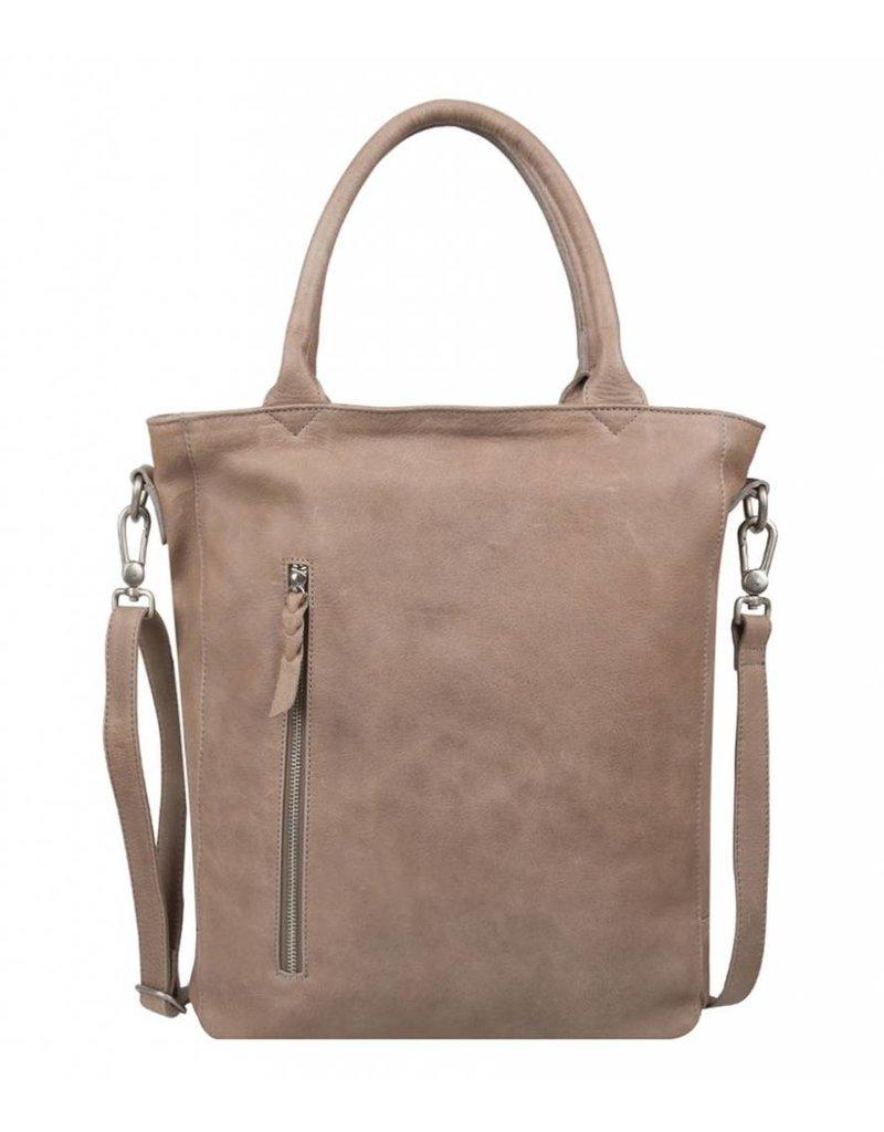 Cowboysbag Cowboysbag - Bag Luton Big - 15.6 inch laptoptas -Elephant Grey