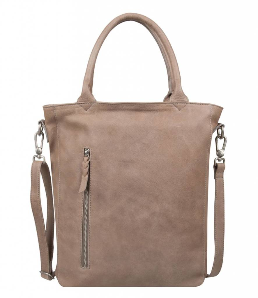 Cowboysbag Cowboysbag - Bag Luton Big - 15.6 inch laptoptas -Elephant Grey