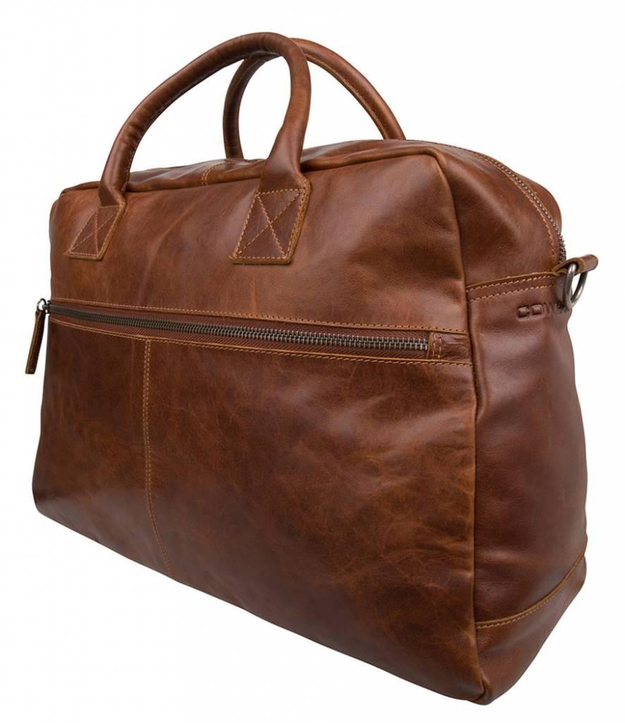 Cowboysbag Cowboysbag  - Bag Cantwell - Cognac - leren schoudertas