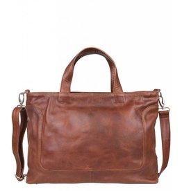 Cowboysbag Cowboysbag - Bag Wick - 15.6 inch laptoptas - Cognac