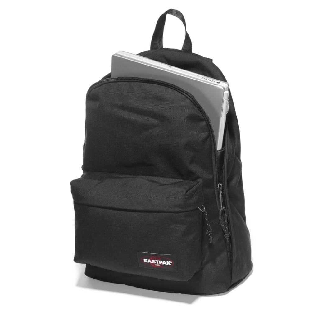 Eastpak Eastpak Out Of Office Brize Leaf 15 inch laptop rugtas van Eastpak schooltas
