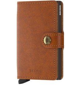 Secrid Secrid Mini Wallet Original Cognac Brown pasjeshouder