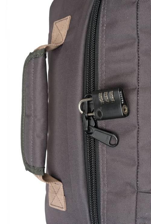 Cabinzero Cabinzero Classic handbagage Black Sand  ultralichte cabin rugzak