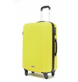 Line Line handbagagekoffer - Leyton Spinner - 55 cm - Yellow