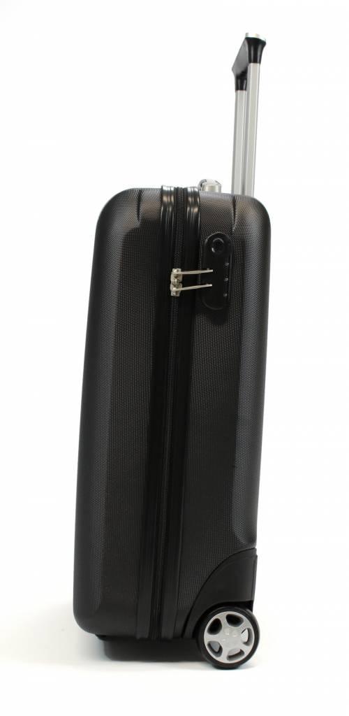Line Line Fuse handbagagekoffer - Upright 55 cm - Black