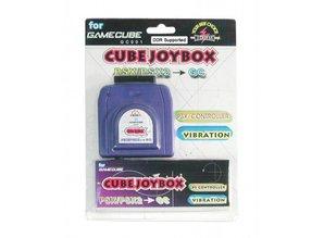 GameCube/Wii JoyBox (PS2 controller of Dansmat op de GameCube/Wii)
