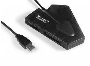 Super Joybox 5 Pro (4x PS/PS2 controller op de PC USB)