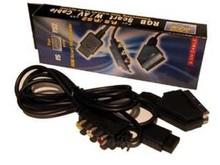 PS1 / PS2 / PS3 RGB Scart kabel